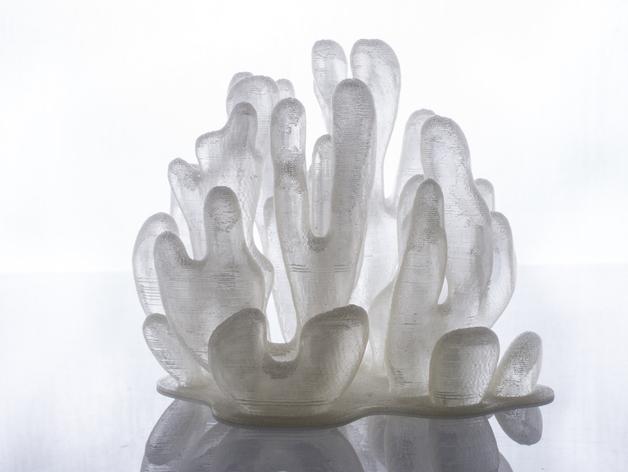树枝形水晶