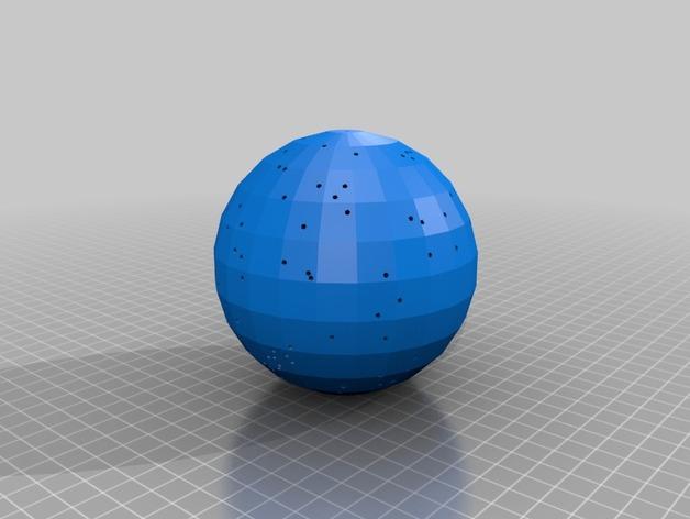 宇宙天体模型 3D打印模型渲染图