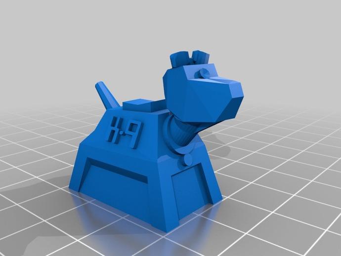 山丘之王K9 模型 3D打印模型渲染图