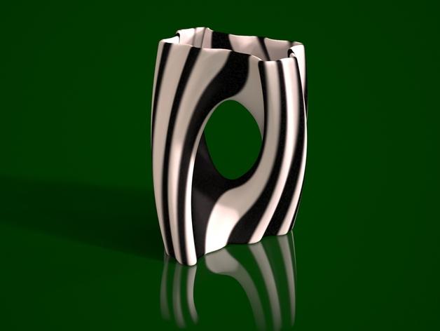Julia 花瓶 3D打印模型渲染图