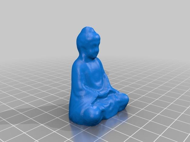 佛像 模型 3D打印模型渲染图