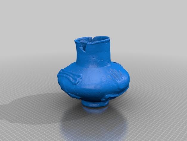 陶罐 模型