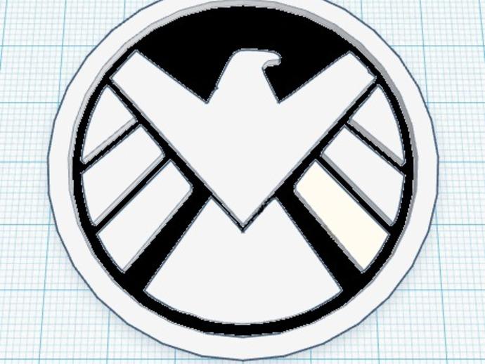 神盾局特工标志