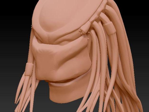 铁血战士头像模型