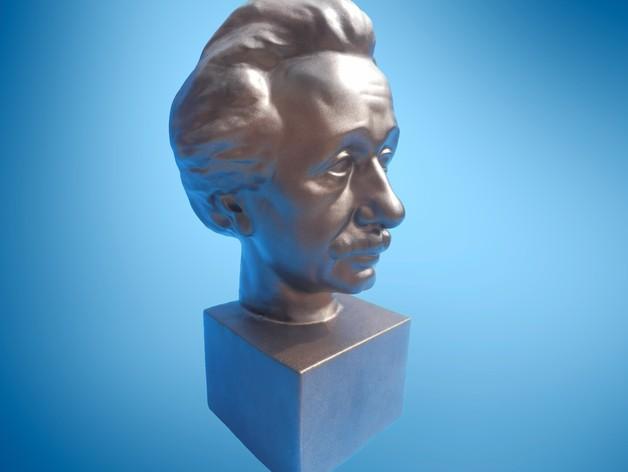 Albert Einstein爱因斯坦半身像模型