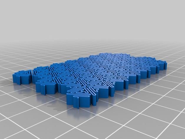 介孔结构材料模型
