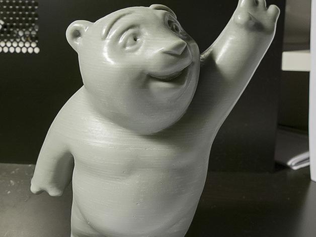 小熊饼干罐