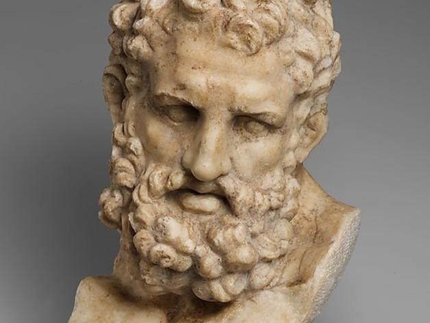 Herakles赫拉克利斯 大理石头像模型