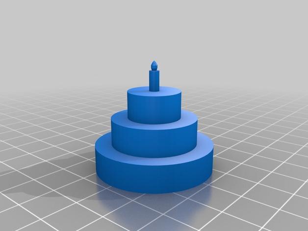 烤蛋糕的机器人 模型