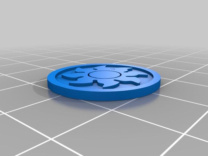 印章 3D打印模型渲染图