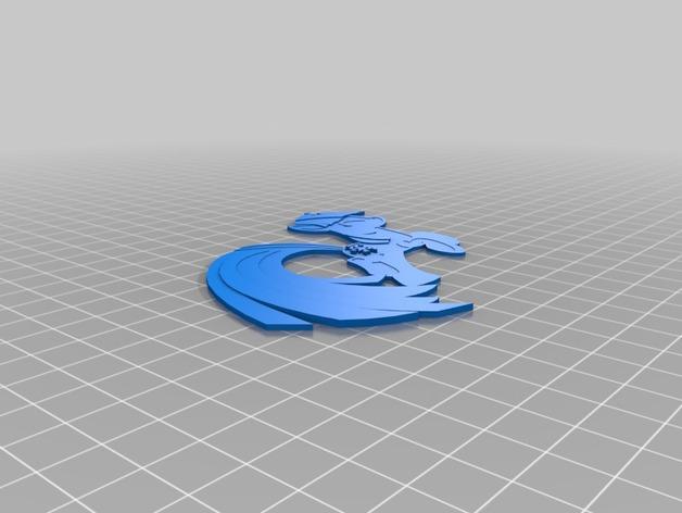 Twilight Sparkle小马驹 3D打印模型渲染图