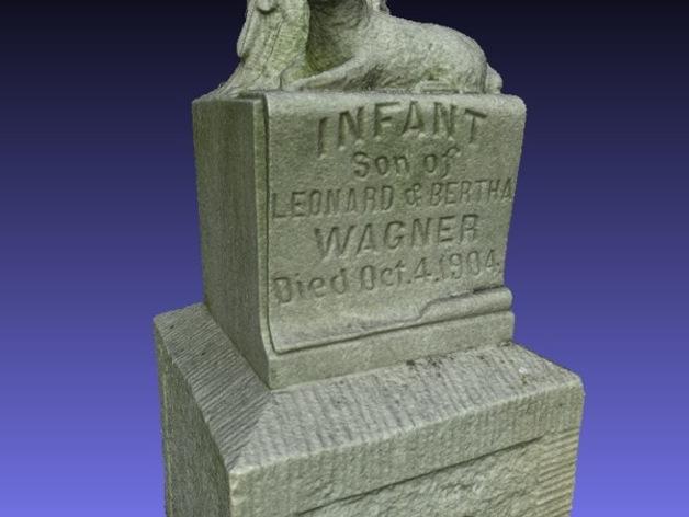 Wagner婴儿纪念碑 模型