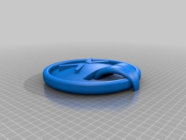 表情符  3D打印模型渲染图