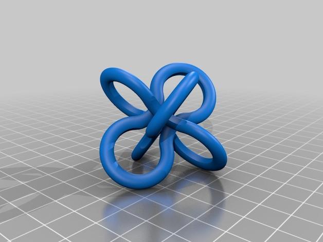 Borromean rings分子环 模型