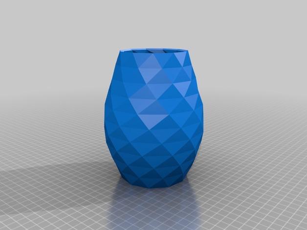 凹凸面花瓶