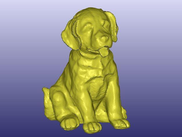 小拉布拉多犬模型