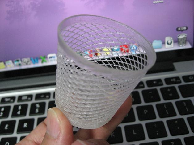 回收桶 3D打印模型渲染图