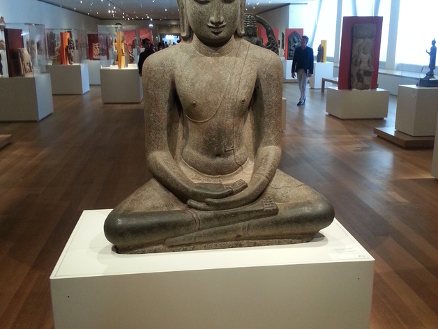 冥想的大佛 3D打印模型渲染图