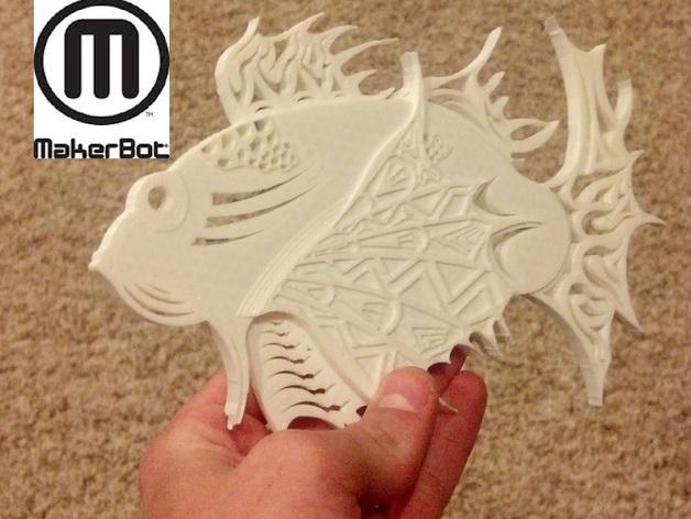 狮子鱼艺术设计