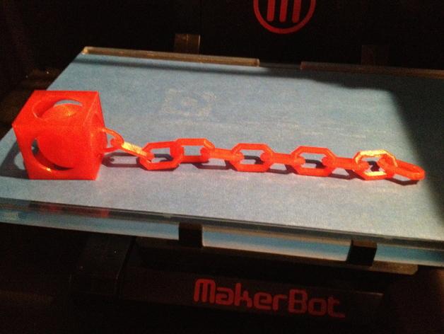 锁链球 3D打印模型渲染图