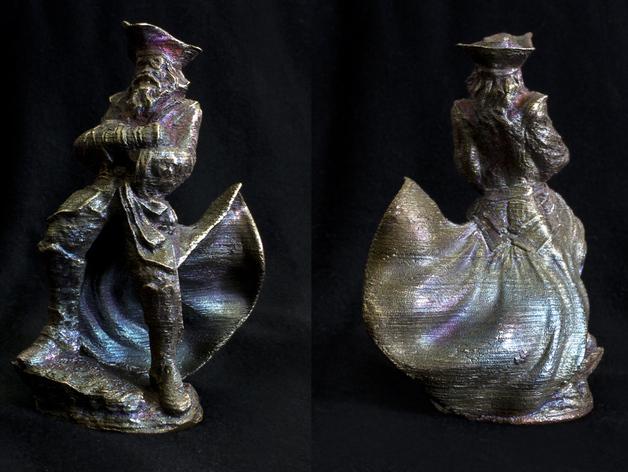 老船长 皮特 Pete雕塑