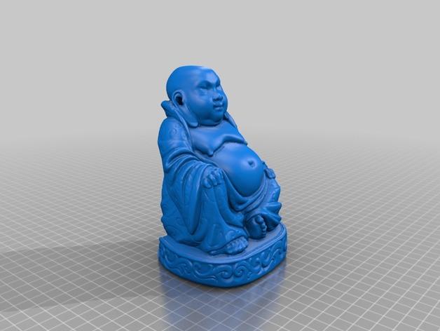 佛像模型 香炉 3D打印模型渲染图