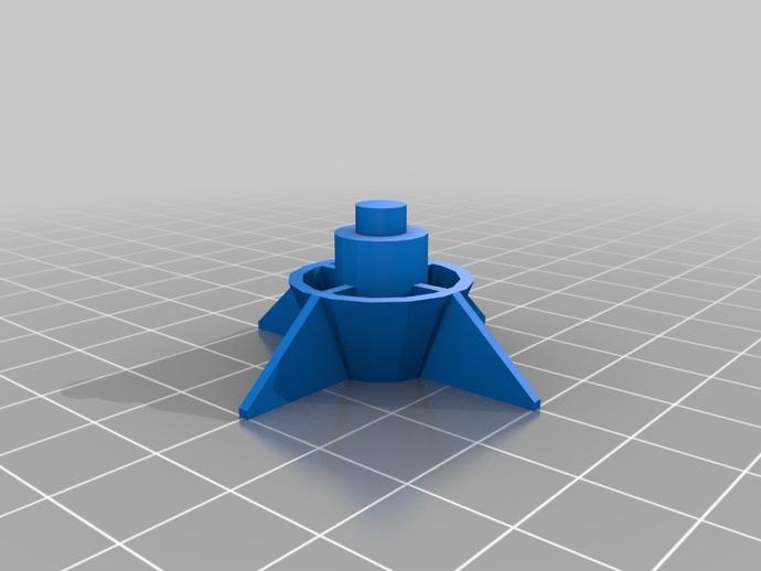 圣诞树 3D打印模型渲染图
