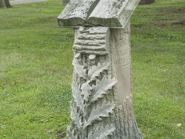 Kilgore墓碑 模型 3D打印模型渲染图