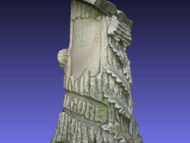 Kilgore墓碑 模型