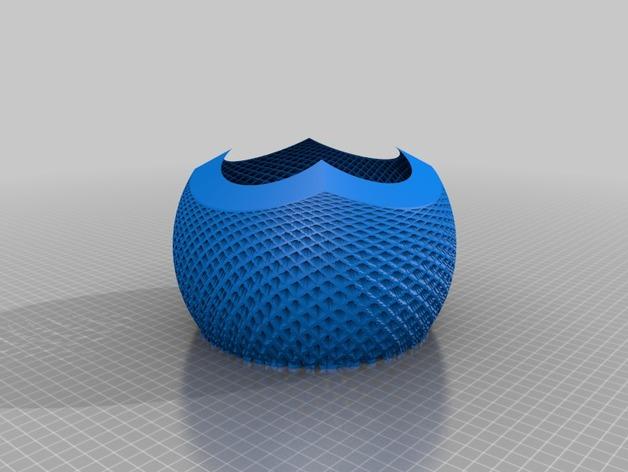 立体投影球