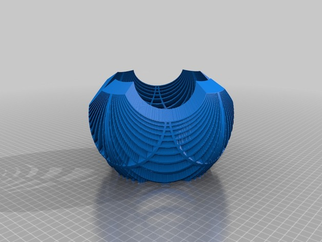 双曲线立体投影