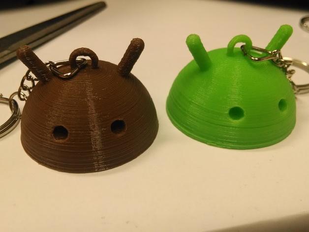 安仔钥匙扣 3D打印模型渲染图