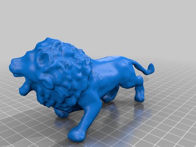 非洲狮 模型