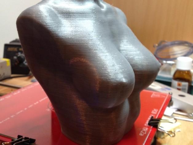 裸体躯干雕像