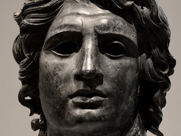亚历山大大帝头像模型 3D打印模型渲染图