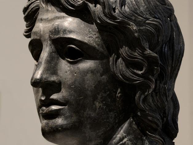 亚历山大大帝头像模型