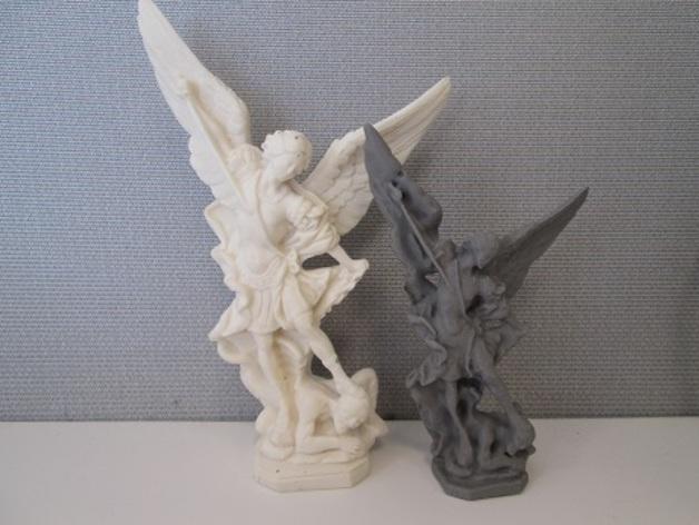 大天使米迦勒 模型 3D打印模型渲染图