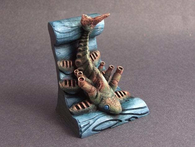 鱼 模型 3D打印模型渲染图