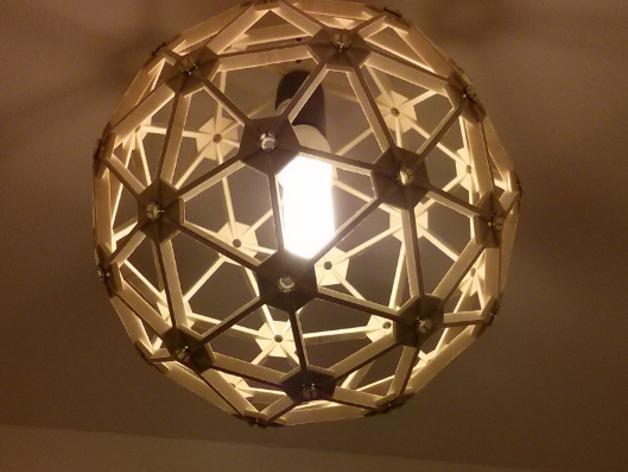 几何镂空灯罩
