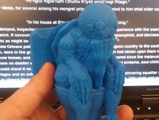 克苏鲁模型 3D打印模型渲染图