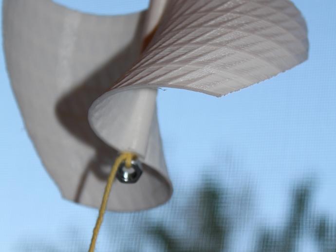 涡轮机风车叶片
