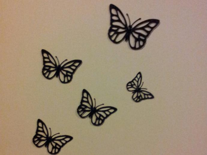 蝴蝶装饰 墙贴