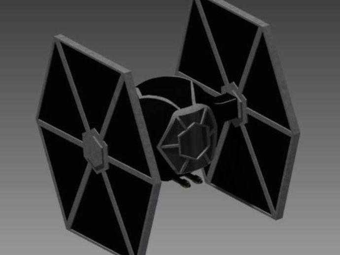 钛战机模型 3D打印模型渲染图