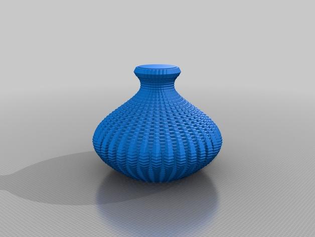正弦波形花瓶