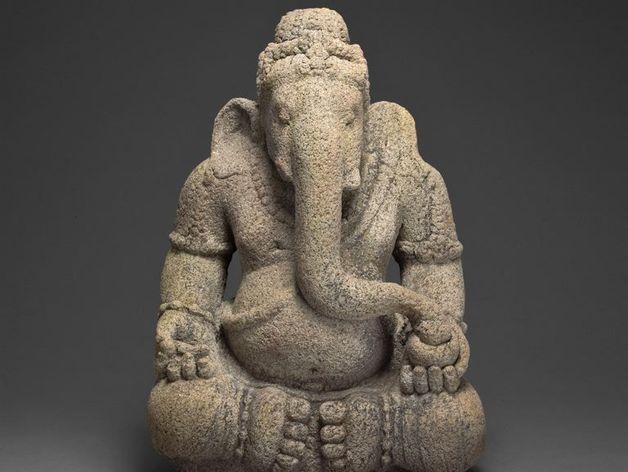 象头神 模型 3D打印模型渲染图