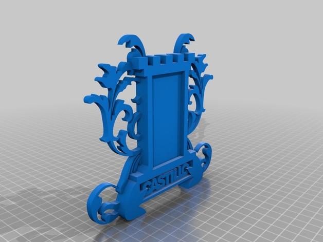 冰箱贴 3D打印模型渲染图