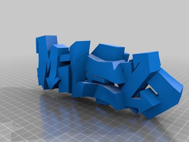 3D涂鸦模型