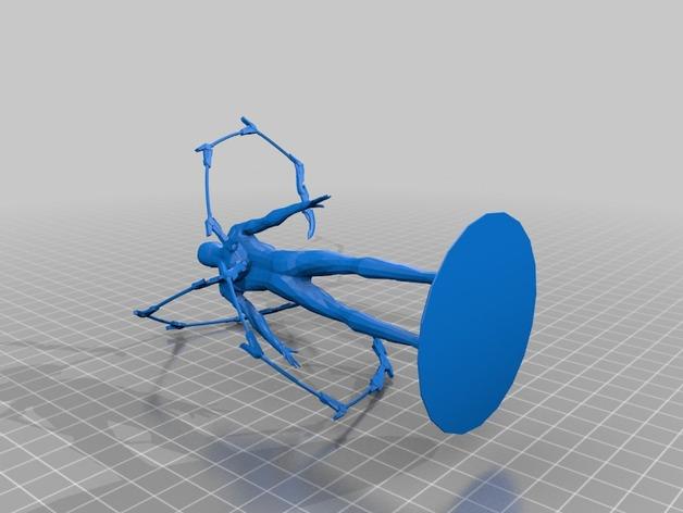 钢铁蜘蛛侠模型 3D打印模型渲染图