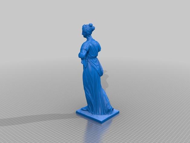 阿格里皮娜雕塑