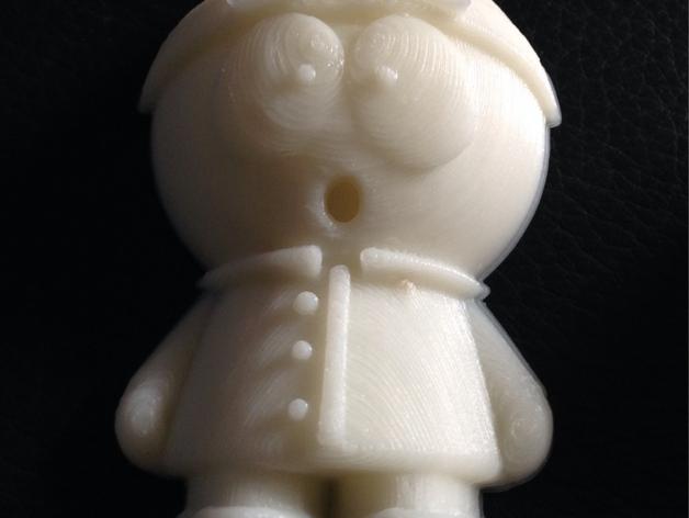 南方公园 玩偶 3D打印模型渲染图
